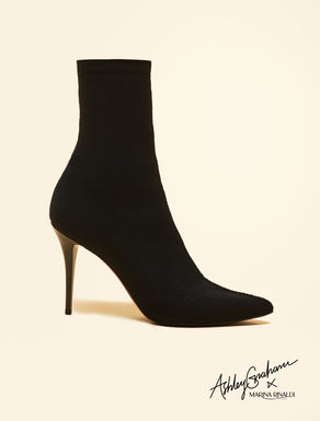 Ankle boots in tessuto stretch