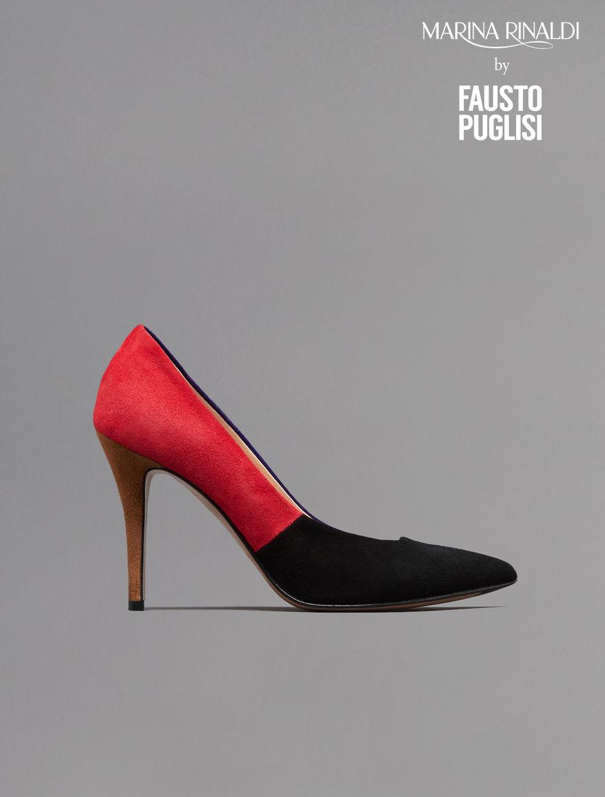 Suede pumps