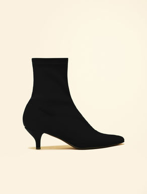 Ankle boots in technical fabric