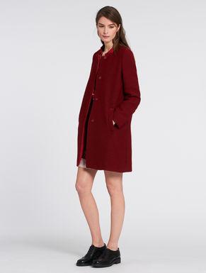 Lamé jacquard coat