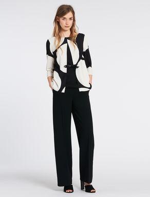 Sablé fabric suit