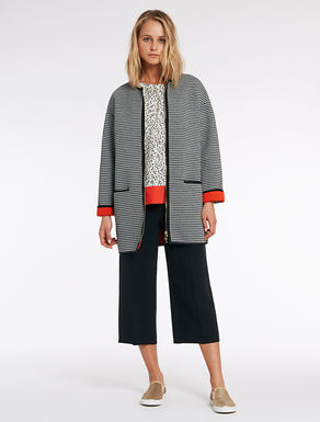 Coat with Vichy squares