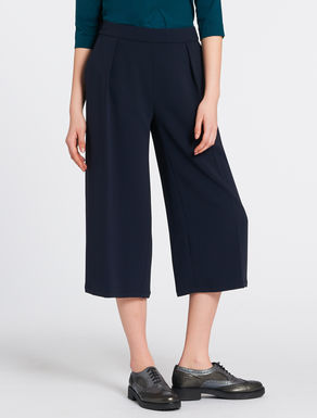Flowing midi trousers