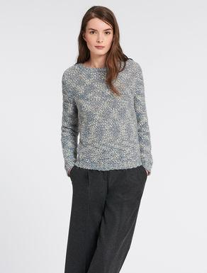 Tweed sweatshirt