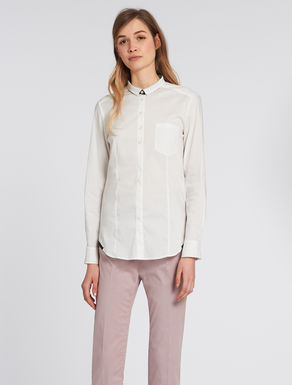 Slim-fit poplin shirt