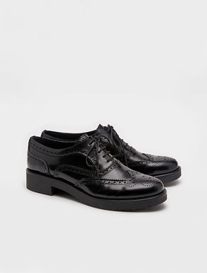Perforated Oxford brogues