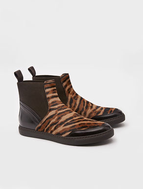 Sneakers slip-on animalier