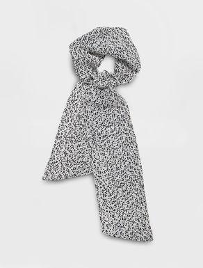 Sciarpa in seta plissé