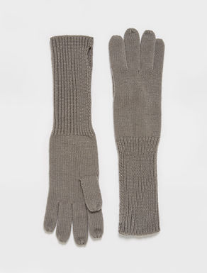 Guanti lunghi in maglia