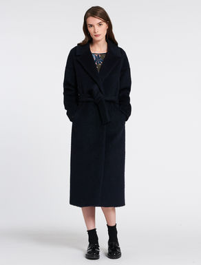 Midi wool/mohair coat