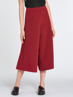 Flowing (trouser-skirt) culottes