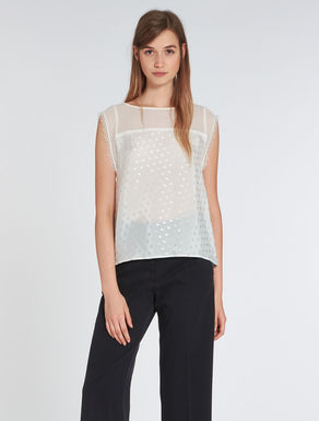 Georgette and habotai top