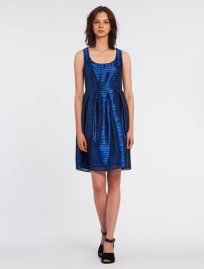Jacquard organza dress