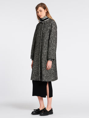 Cappotto in stuoia tweed