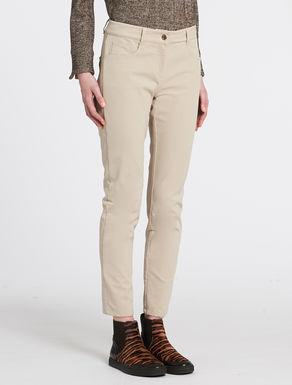Gabardine skinny pants