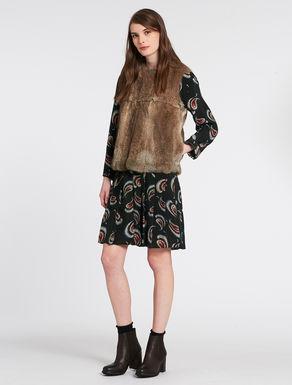 Padded lapin waistcoat