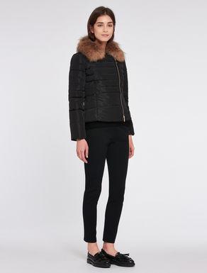 Padded slim-fit jacket