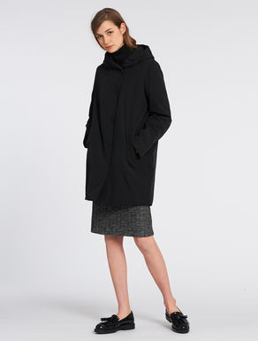Egg-shaped padded coat