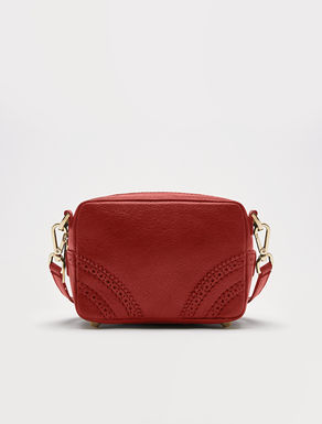 Mini top handle bag with shoulder strap