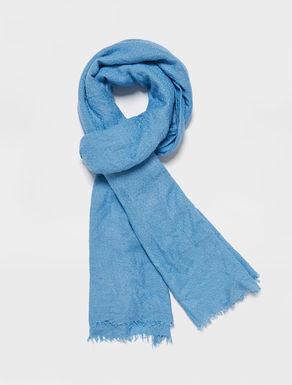 Soft jacquard gauze scarf
