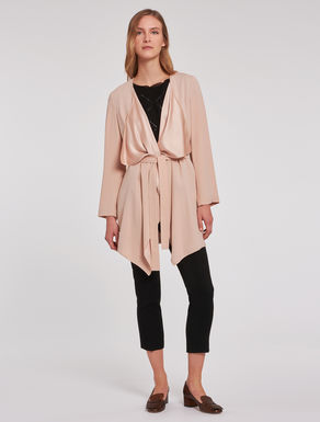 Envers satin duster coat