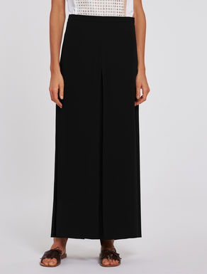 Palazzo pants in georgette