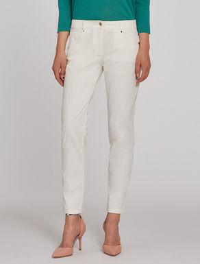 Pantaloni skinny in tricotina