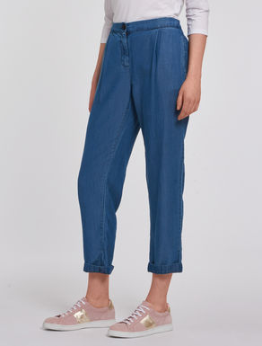 Pantaloni in denim soft