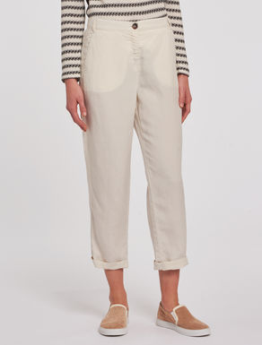 Pantaloni in lino soft