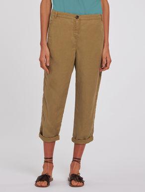 Pantaloni in lino soft