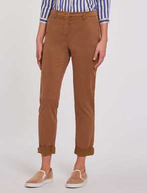 Cotton/lyocell trousers