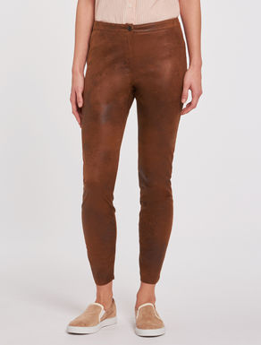 Jersey skinny trousers