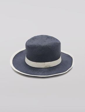 Basketweave fedora hat