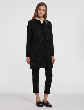Bouclé jacquard jacket