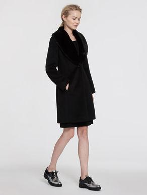 Slim wool/mohair jacket