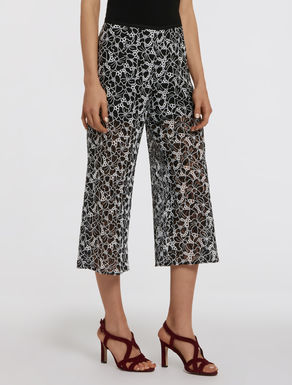 Culottes in embroidered lace