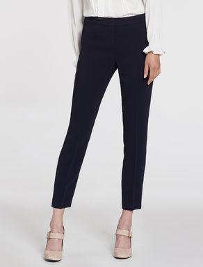 Slim cady trousers