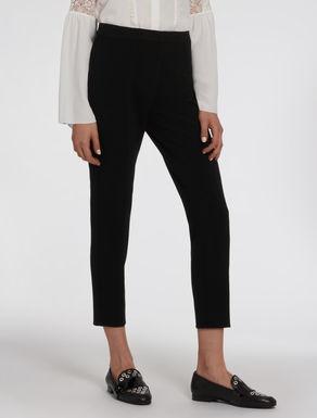 Pantaloni slim in tessuto stretch