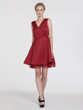 Fit & flare duchesse dress
