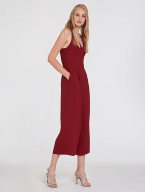 Jumpsuit in floaty cady fabric