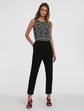 Lace and cady jumpsuit