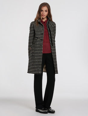 Slim Vichy wool jacket
