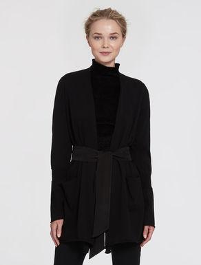 Long cotton/silk cardigan