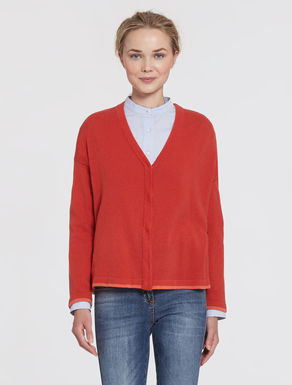 Cardigan in lana/cashmere