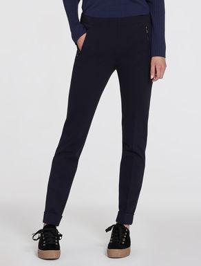 Pantaloni in jersey punto Milano