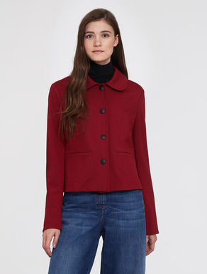 Milan stitch jersey jacket