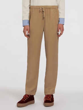Loose twill trousers