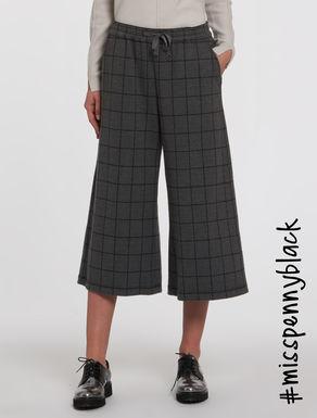 Culotte pants in jersey