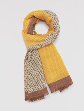 Chevron texture scarf