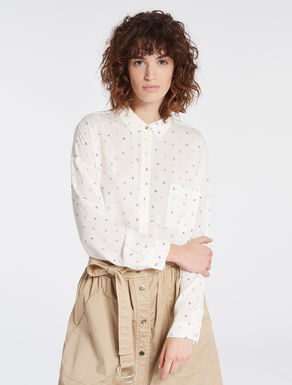 Floaty fabric shirt